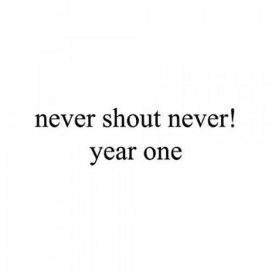 Never Shout Never Year One CD