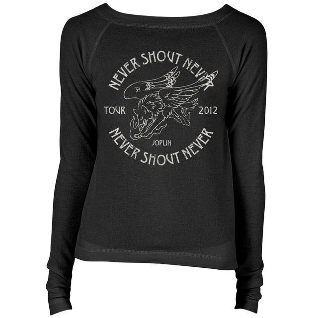 Never Shout Never Spirit Of Joplin Boatneck Raglan