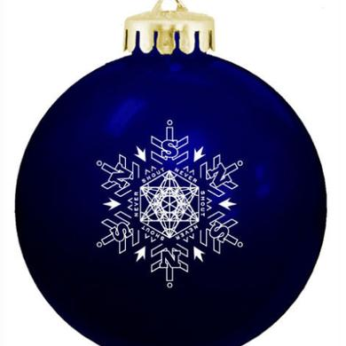 Never Shout Never NSN Blue Ornament