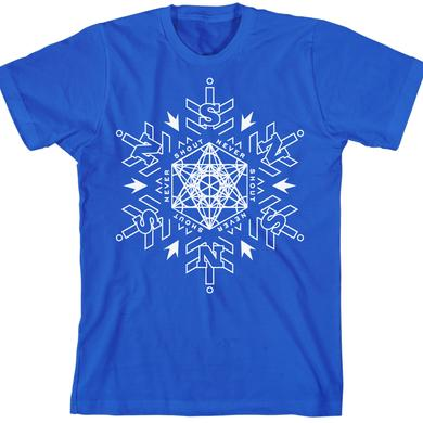 Never Shout Never Sacred Snowflake Blue T-Shirt