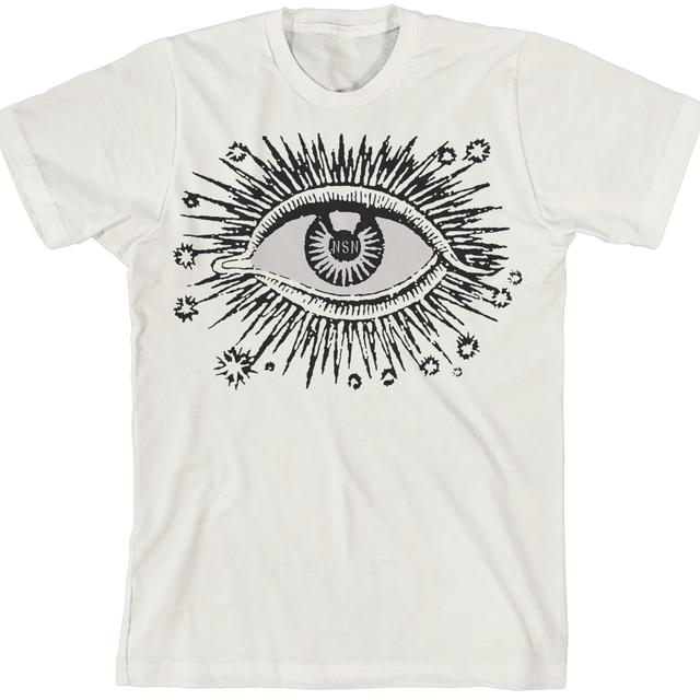 Never Shout Never Eye Burst Natural T-Shirt