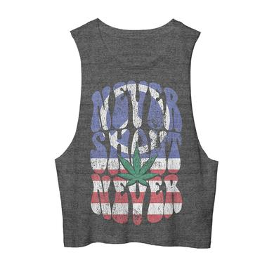 Never Shout Never Peace, Weed Flag Cutoff Tank