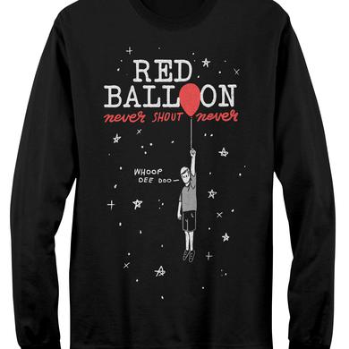 Never Shout Never Balloon Kid Long Sleeve T-Shirt