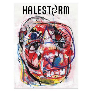 Halestorm ReAniMate 3.0 EP Cover Poster