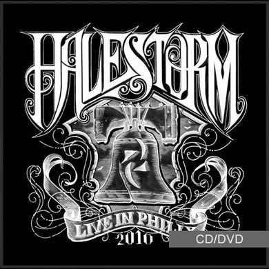 Halestorm Live In Philly 2010 (CD/DVD)