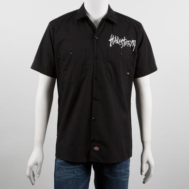 Halestorm Distressed Circle Work Shirt