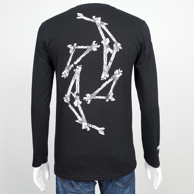 Halestorm Skeleton Swirl Long Sleeve Shirt