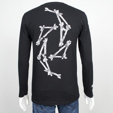 Halestorm Skeleton Swirl Long Sleeve Shirt