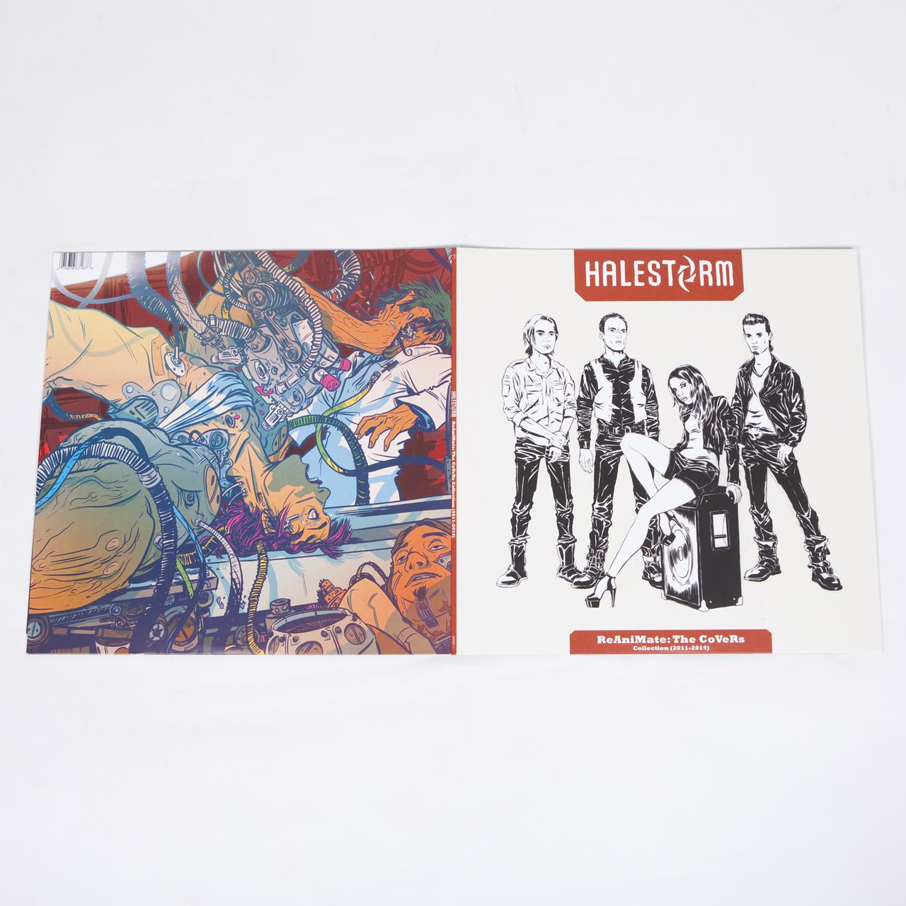 Halestorm ReAniMate: The CoVeRs Collection (2011 - 2014) (Splatter ...