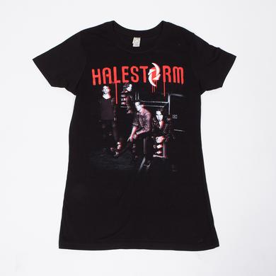 Halestorm Paint Photo Junior T-Shirt