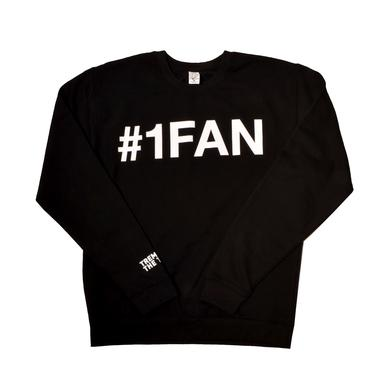 Trey Songz #1 Fan Song Slim Fit Crewneck Sweatshirt