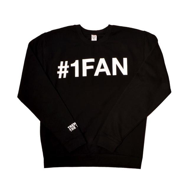 Trey Songz 1 Fan Song Slim Fit Crewneck Sweatshirt