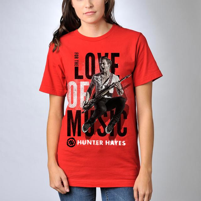 Hunter Hayes For The Love of Music T-Shirt
