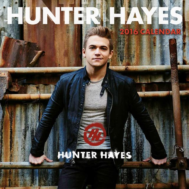 Hunter Hayes 2016 Calendar