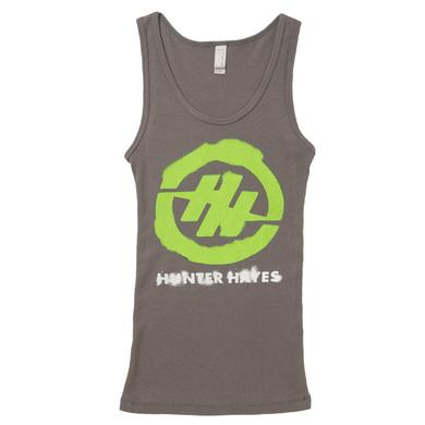 Hunter Hayes Green Logo Tank Top