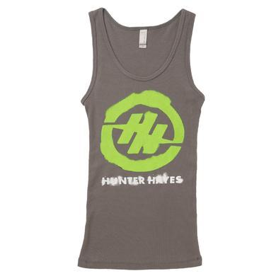 Hunter Hayes Green Logo Tank Top