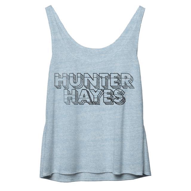 Hunter Hayes Slash Slouchy Tank Top
