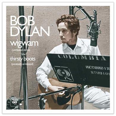 "Bob Dylan - Wigwam 7"" Single Vinyl"