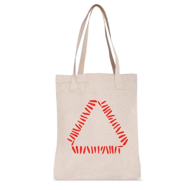 Warpaint Triangle Tote Bag