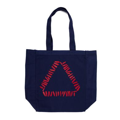 Warpaint Blue Triangle Tote