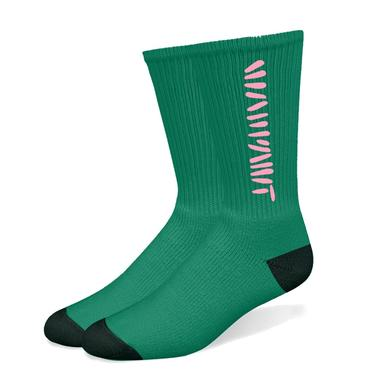 Warpaint Green Socks