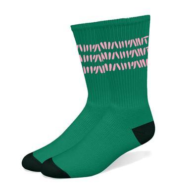 Warpaint Pink Stripes Socks