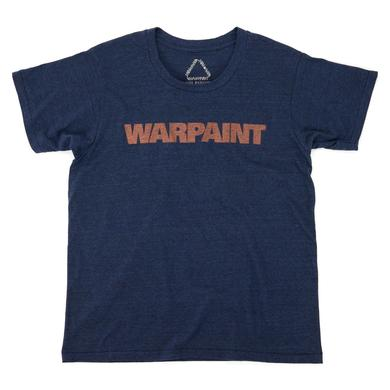 Warpaint Logo Women's Navy Tee
