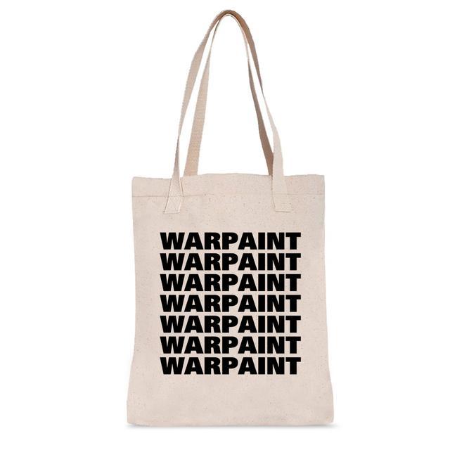 Warpaint Black Logo Tote Bag