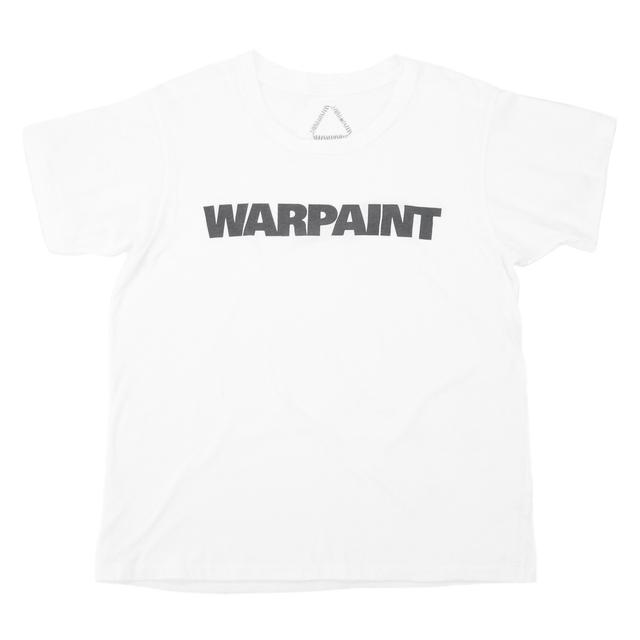 Warpaint Logo Women's White Tee