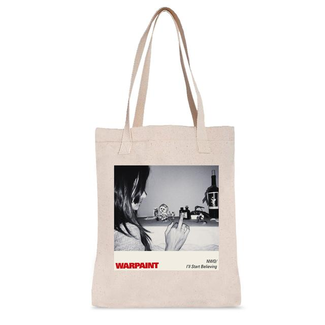 Warpaint NWO/I'll Start Believing Tote Bag
