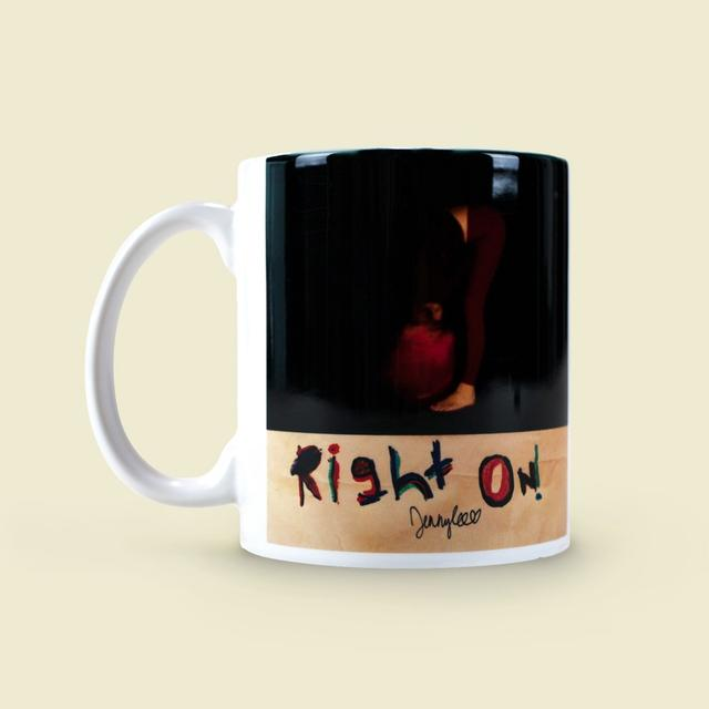 "JENNYLEE Jenny Lee ""Right On"" Mug"