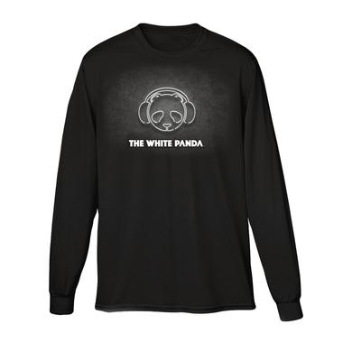 The White Panda Black Logo Crewneck