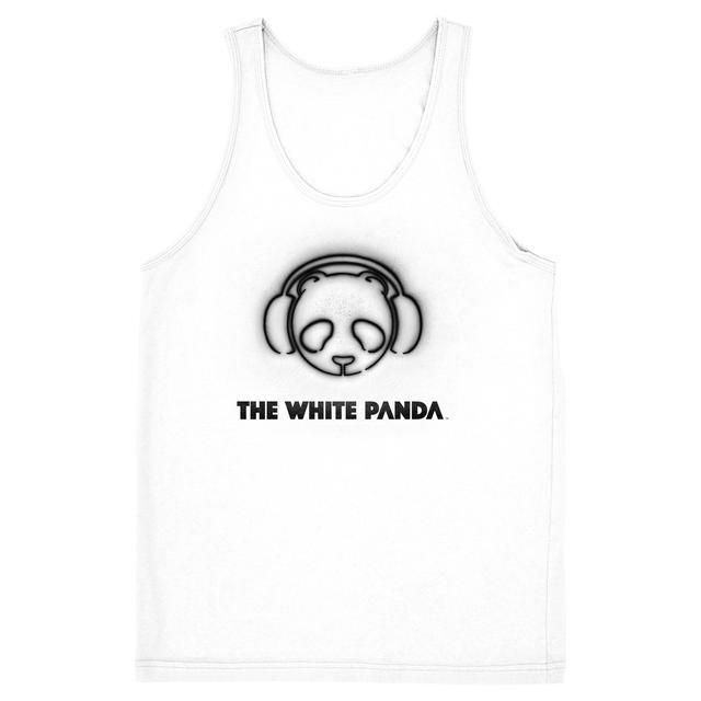 The White Panda White Logo Tank
