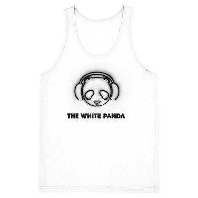 The White Panda White Logo Tank