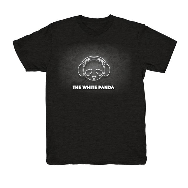 The White Panda Black Logo Tee