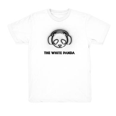 The White Panda White Logo Tee