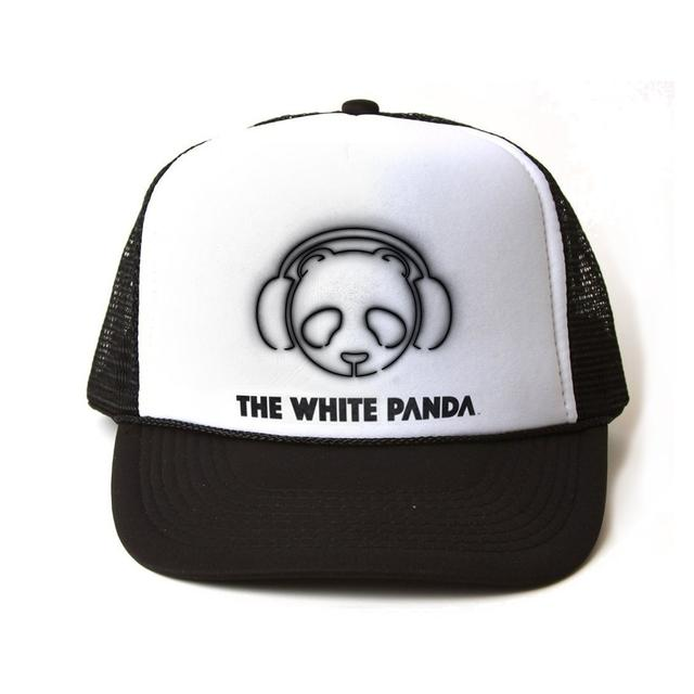 The White Panda Logo Trucker Hat