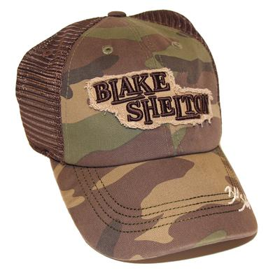 Blake Shelton Camo Signature Hat