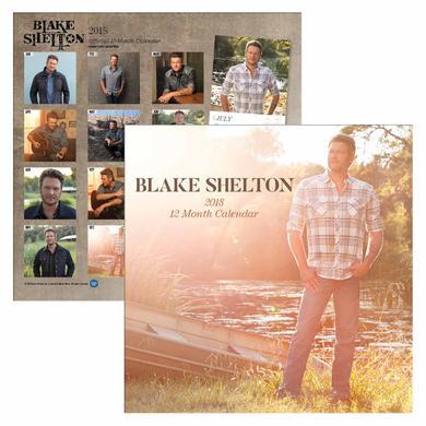 Blake Shelton BS 2018 Calendar