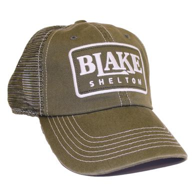 Blake Shelton Military Green Hat