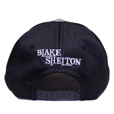 Blake Shelton BS Grey Snapback Hat