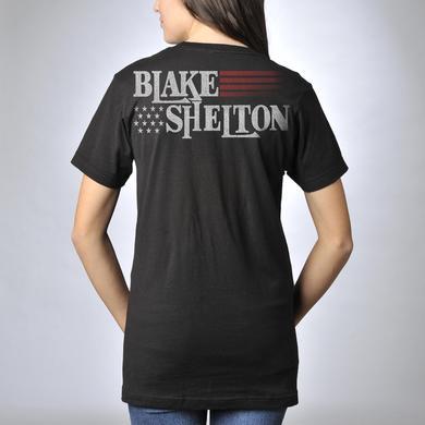 Blake Shelton Patriotic KMC@$$ T-Shirt