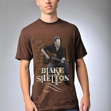 Blake Shelton Strumming T-Shirt