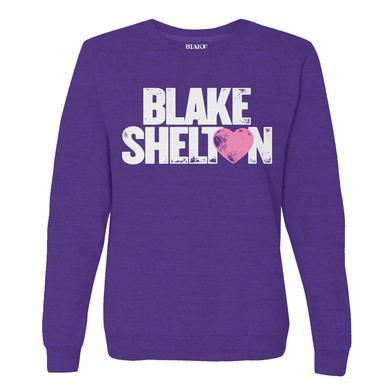 Blake Shelton BS Heart Pullover