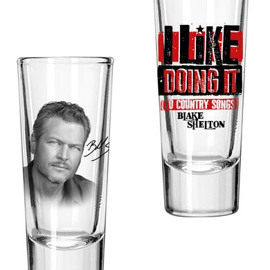 Blake Shelton Doin' It To Country Songs Shooters (Set of 2)
