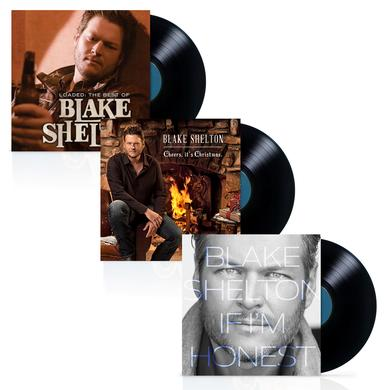 Blake Shelton Vinyl LP Bundle (3 albums)