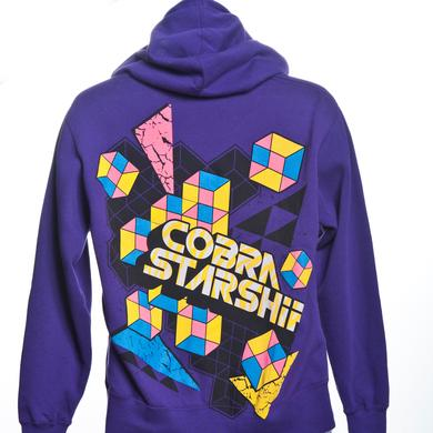 Cobra Starship Shapes Zip Hoodie