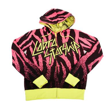 Cobra Starship Tiger Stripes Juniors Hoodie
