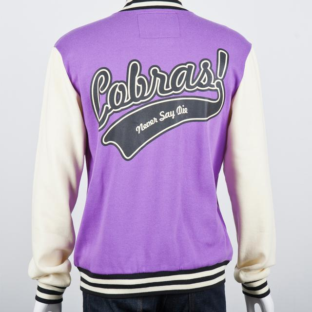 Cobra Starship Varsity Jacket (Purple)