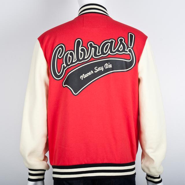 Cobra Starship Varsity Jacket (Red)